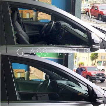 front glass replacment