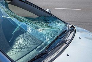 broken windshield repair